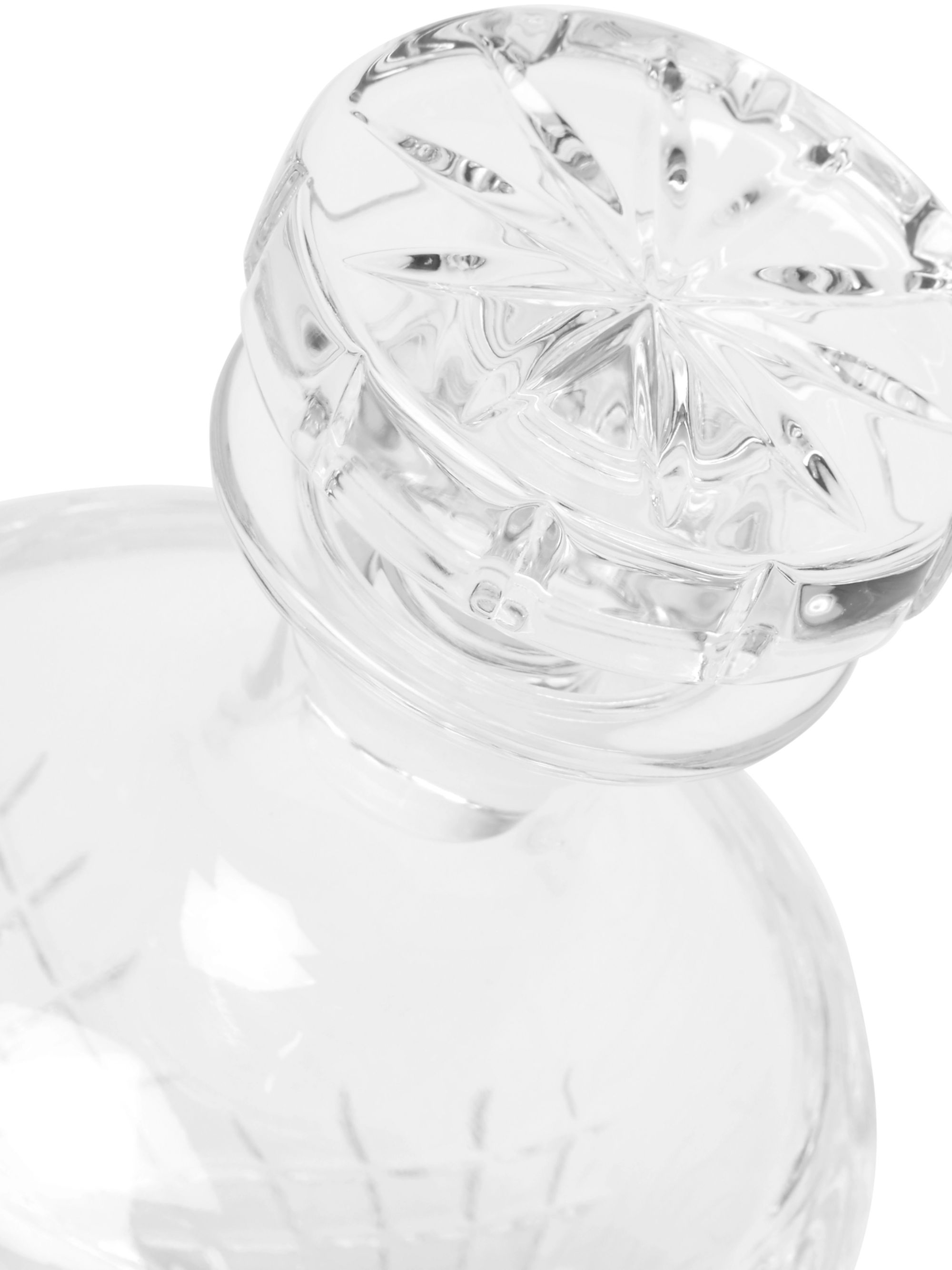 Soho Home Barwell Cut Crystal Decanter