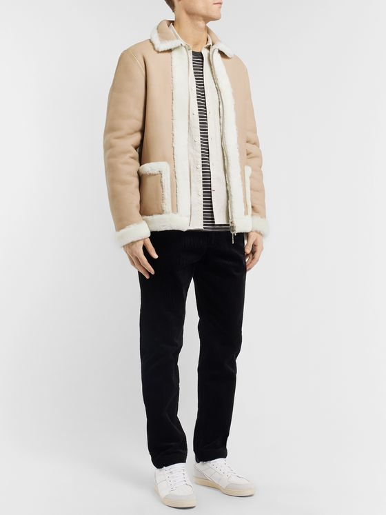 Officine Generale Reversible Shearling Jacket