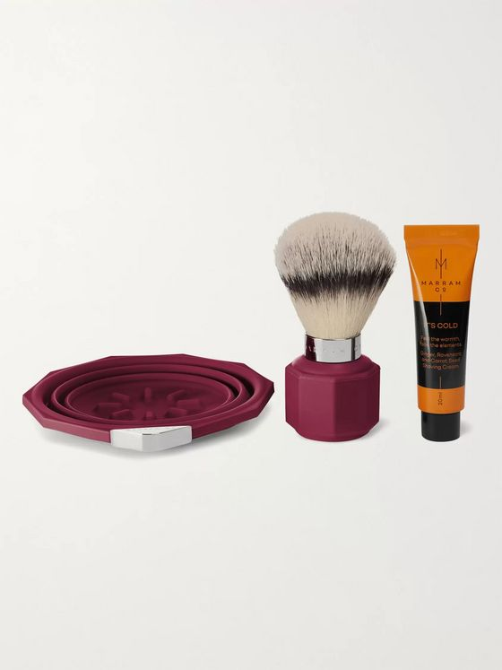 Marram Co POP Travel Shaving Set