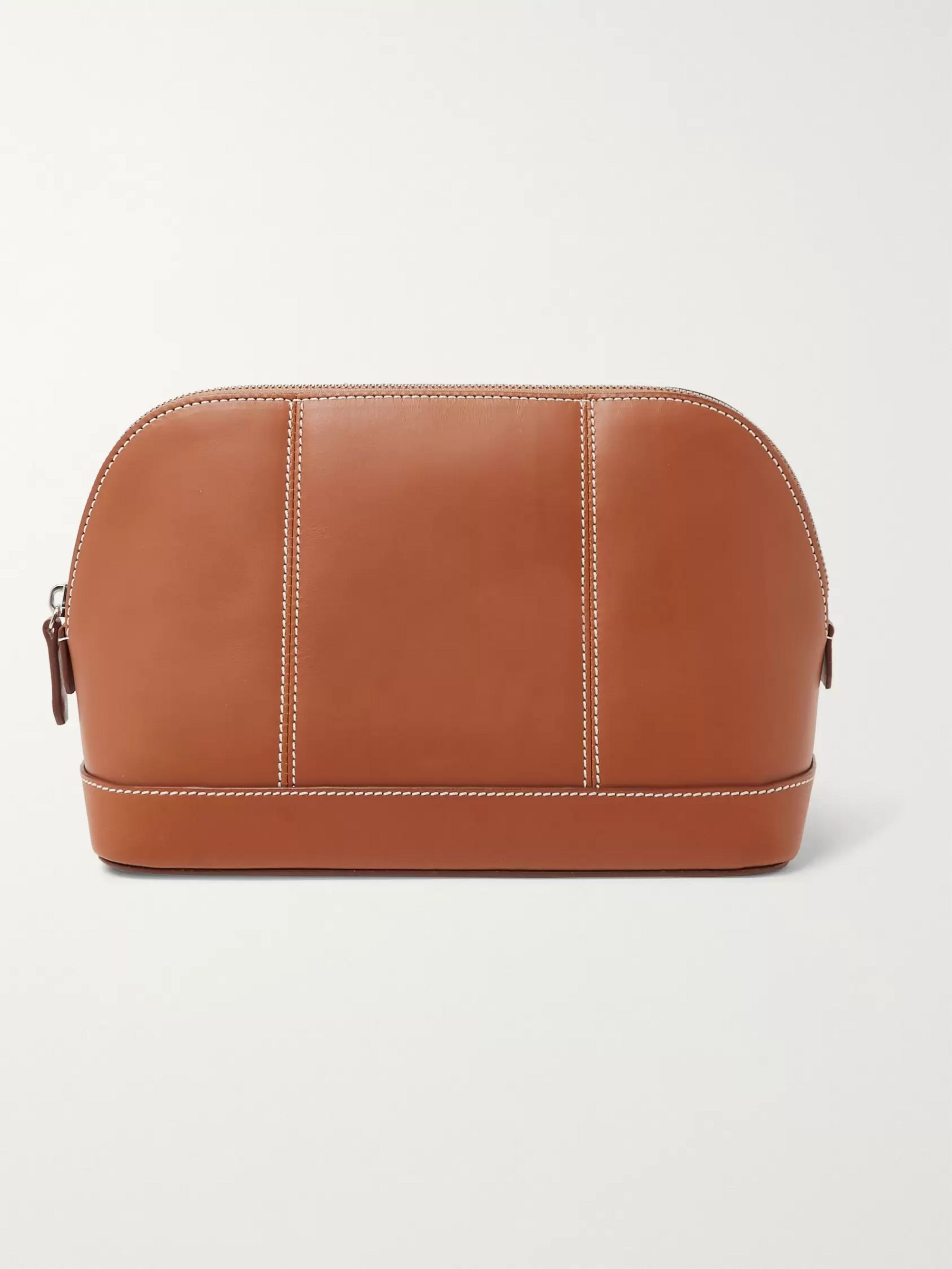 Connolly Leather Wash Bag