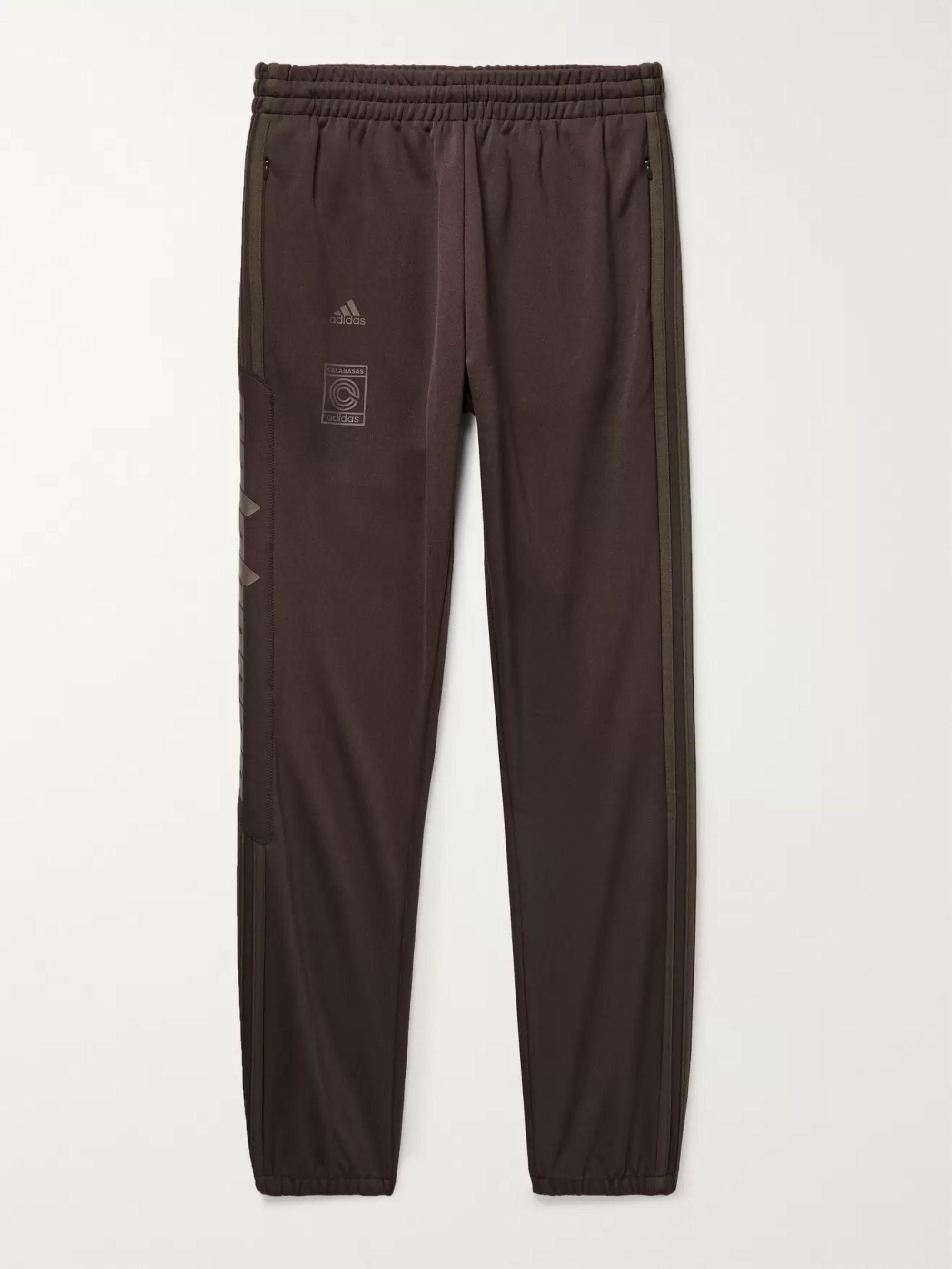 + Yeezy Calabasas Striped Jersey Sweatpants by Adidas Originals