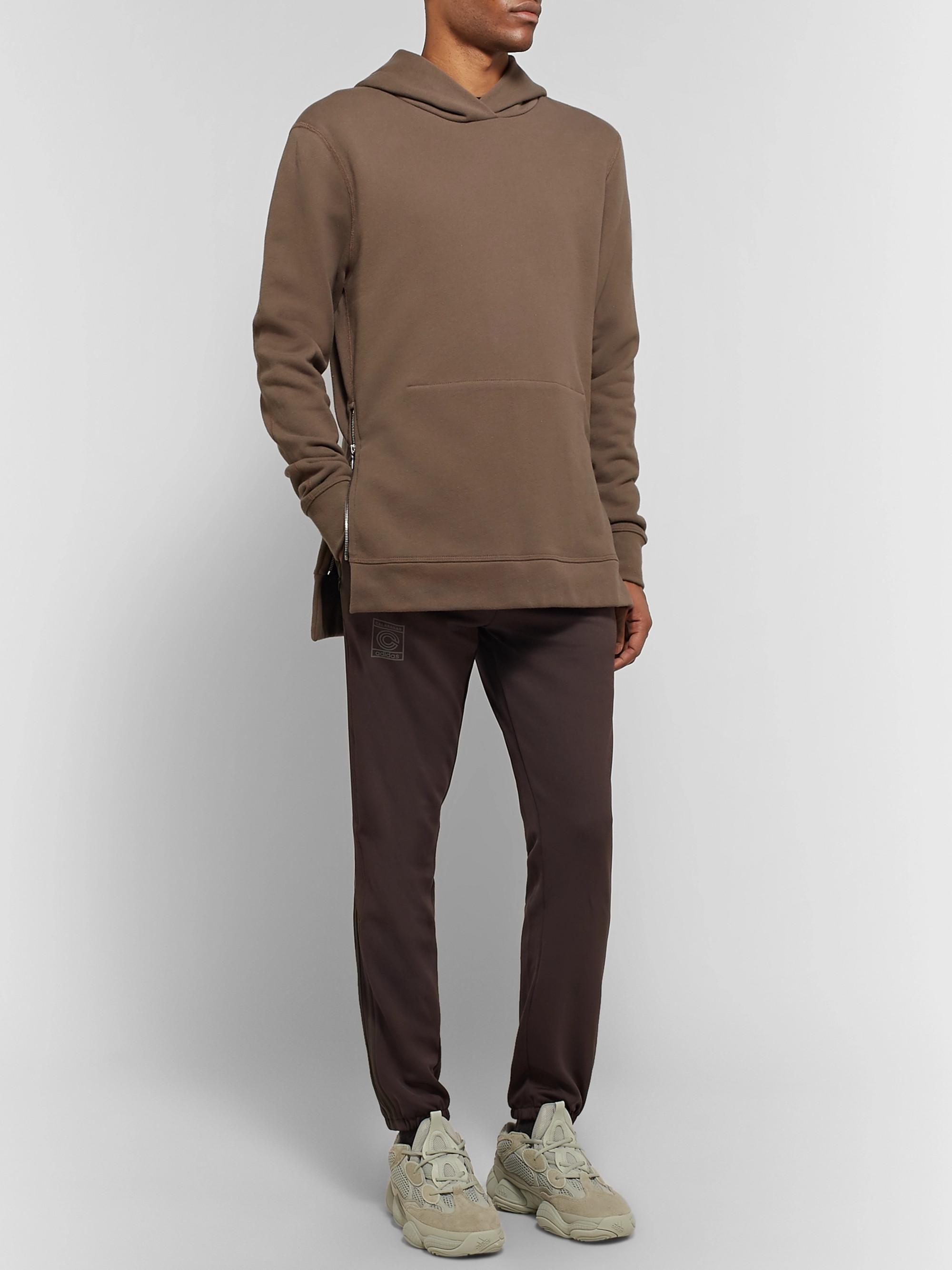 39fcb85d Dark brown + Yeezy Calabasas Striped Jersey Sweatpants   adidas ...