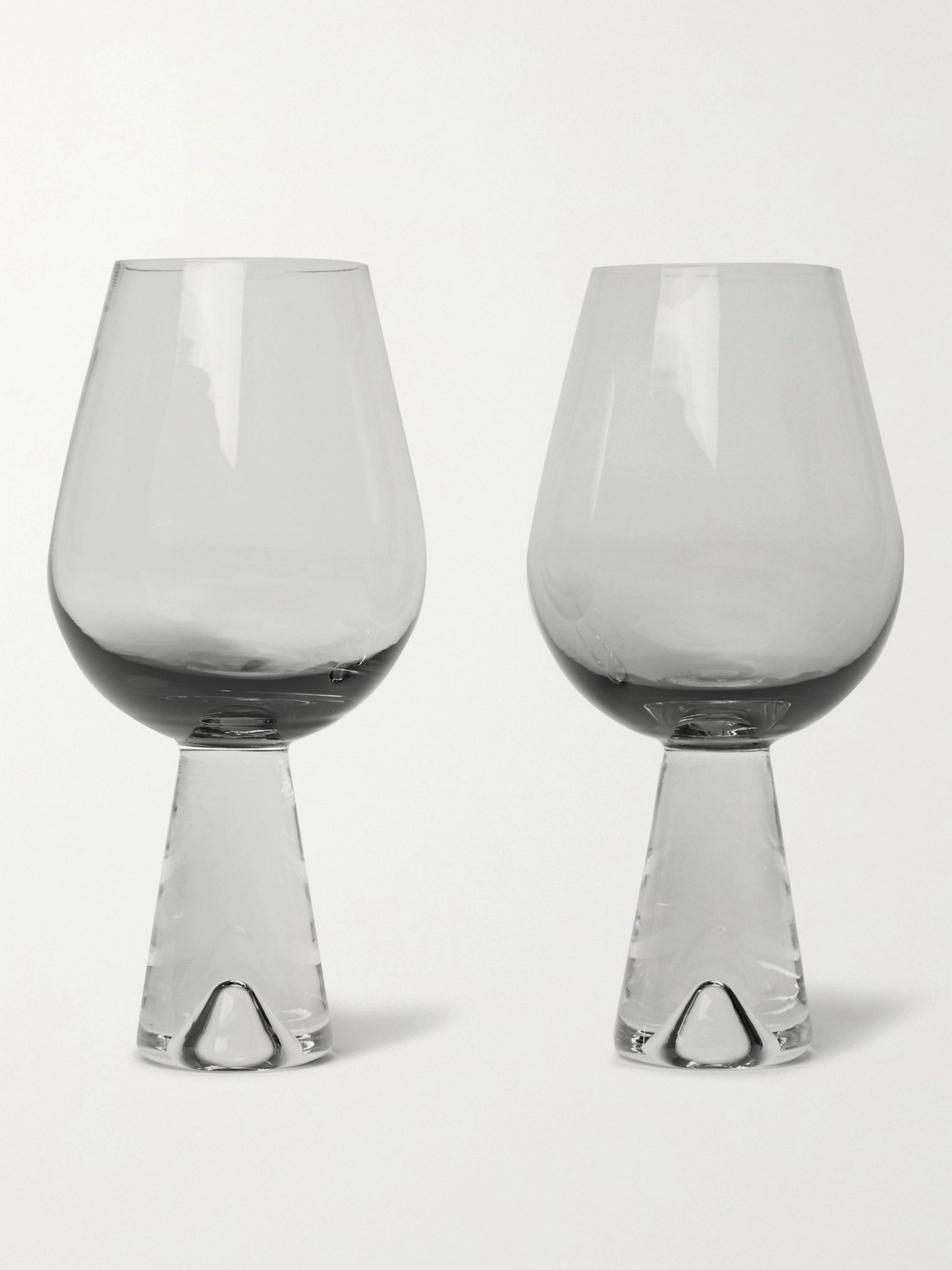 Tom Dixon Tank Set of Two Dégradé Wine Glasses