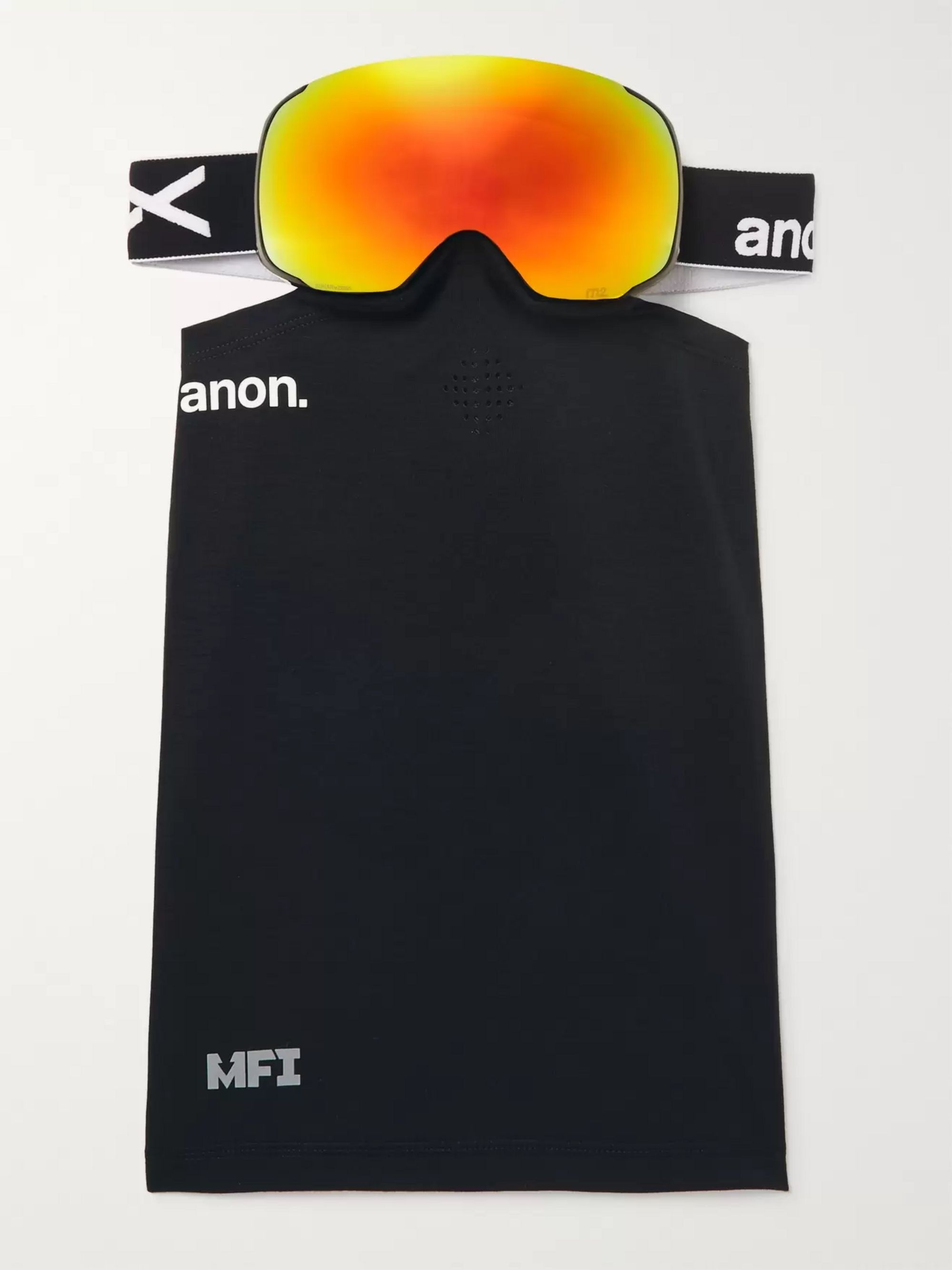 Anon M2 Ski Goggles and Stretch-Jersey Face Mask