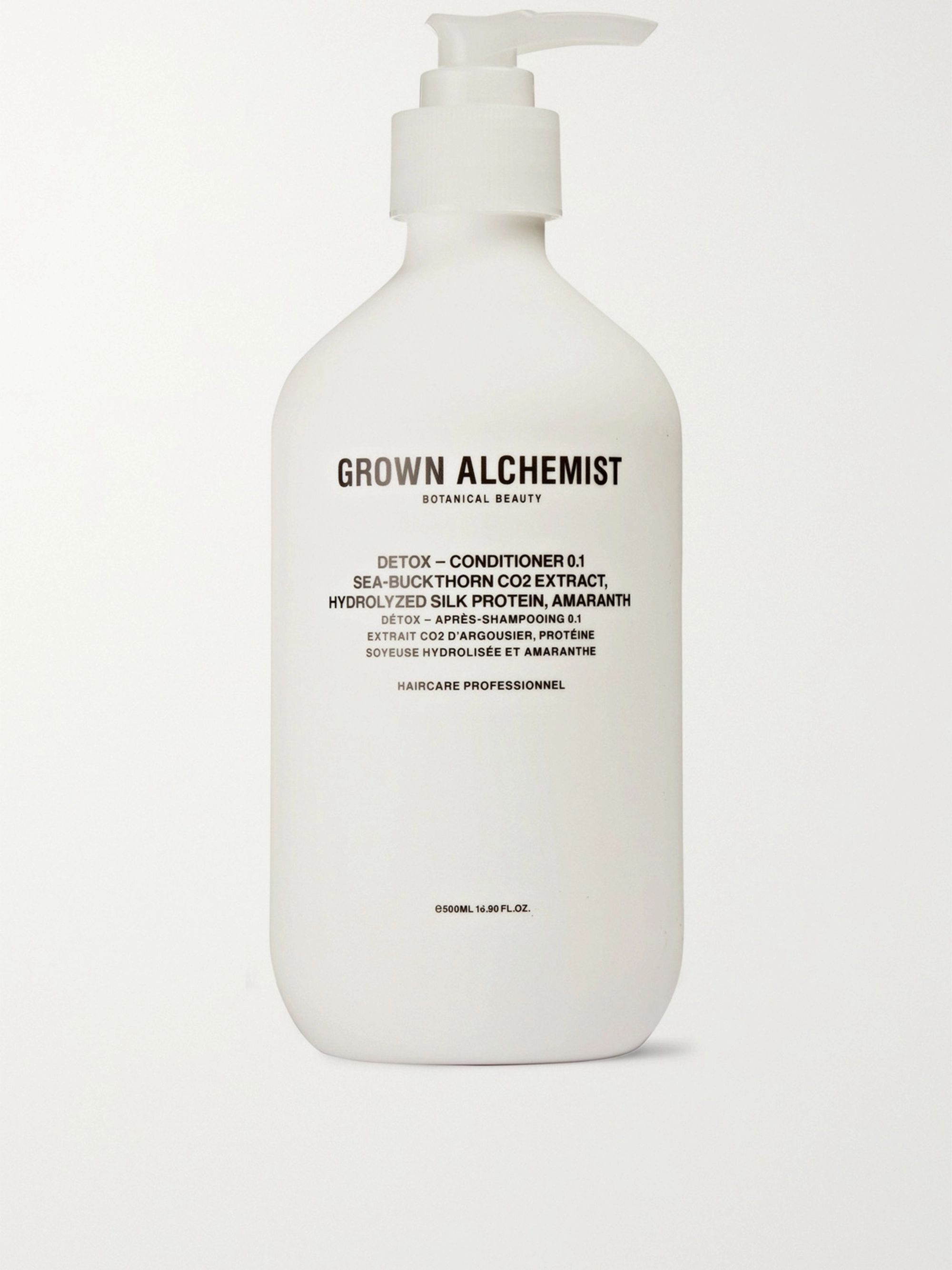 Grown Alchemist Detox Conditioner 0.1 - Sea-Buckthorn CO2 Extract, Hydrolysed Silk Protein & Amaranth, 500ml