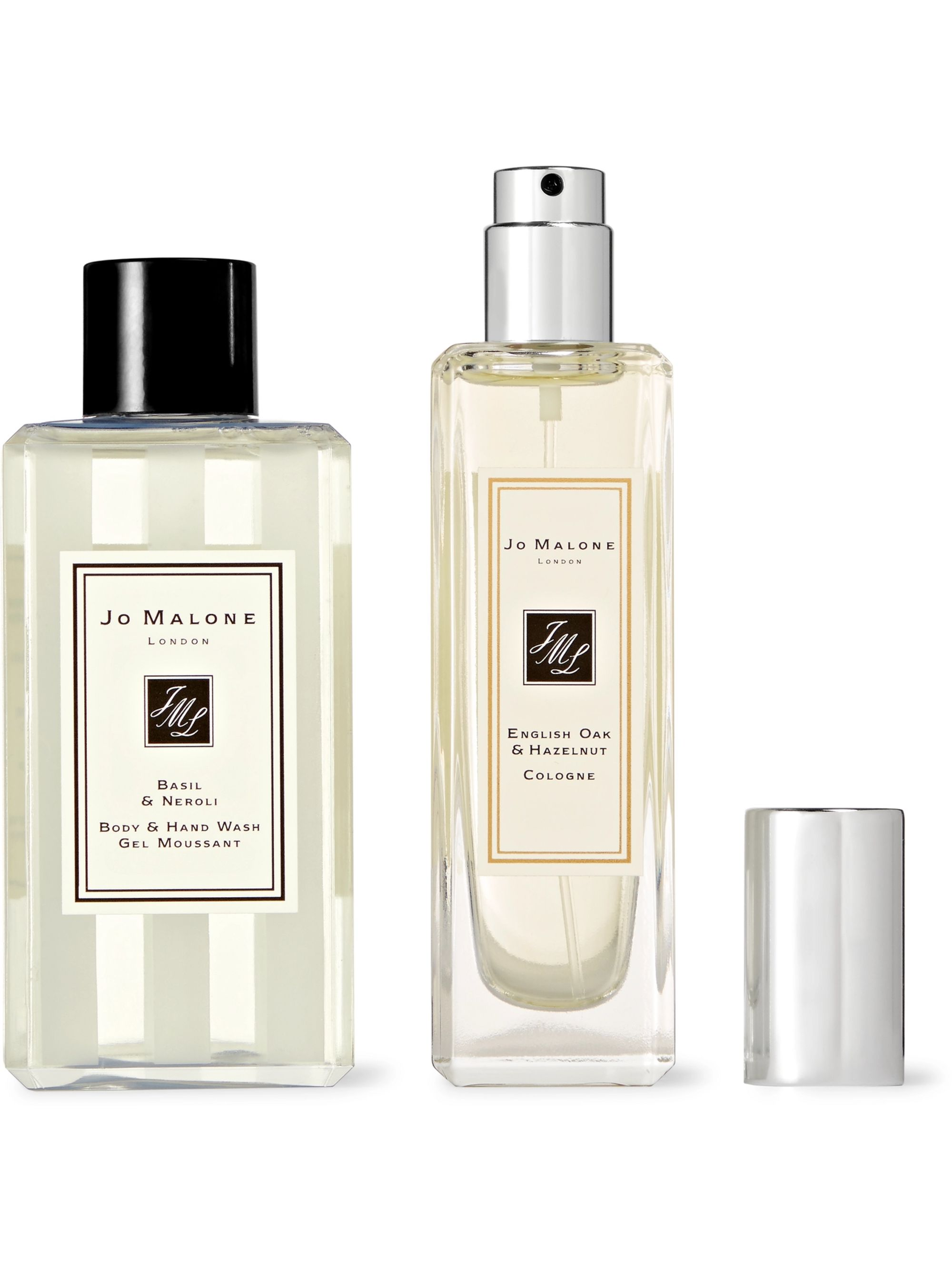 Jo Malone London English Oak & Hazelnut Cologne and Basil & Neroli Body Wash Set