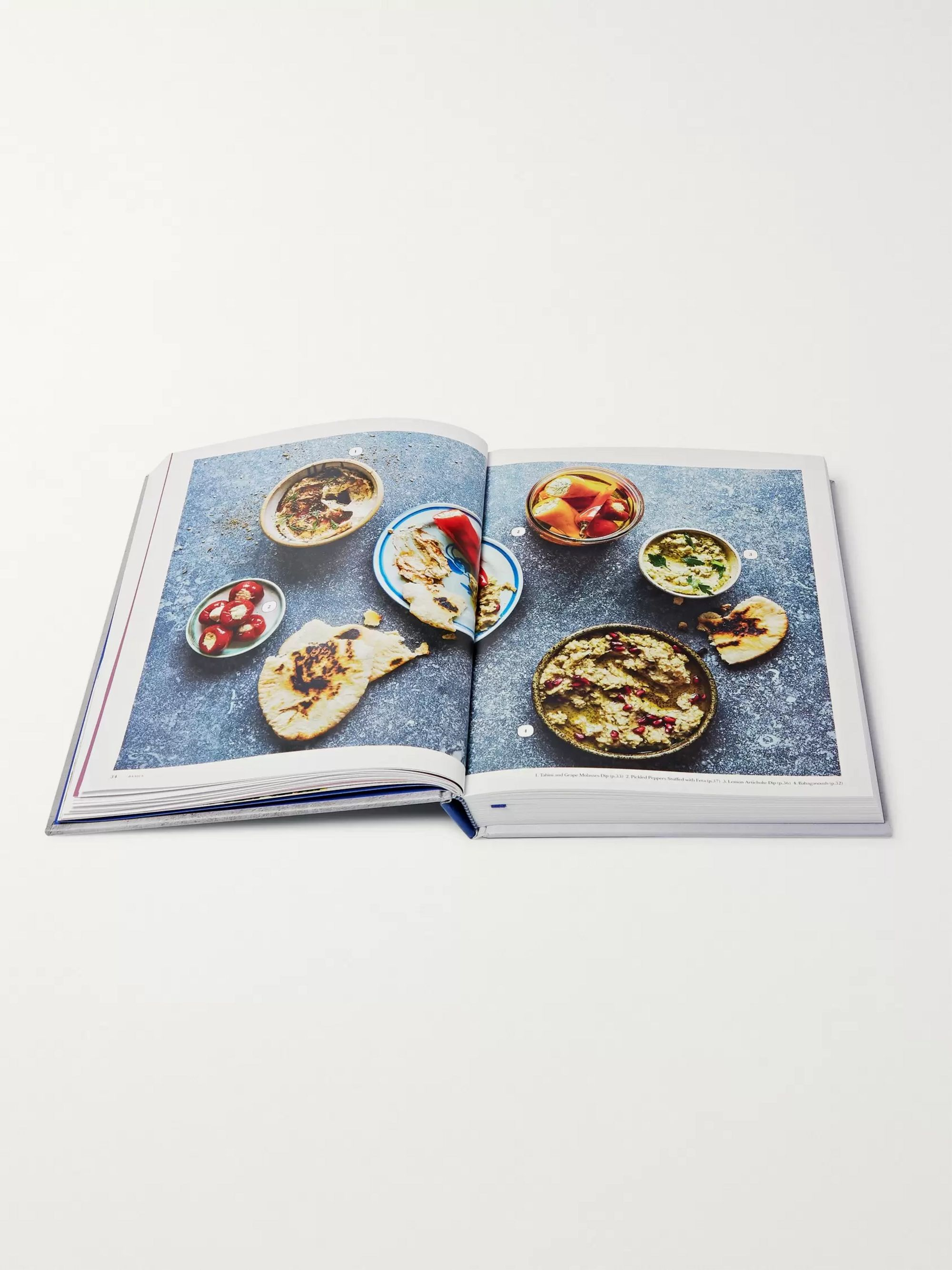 Phaidon The Mezze Cookbook Hardcover Book