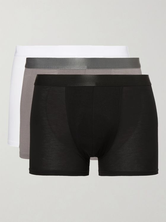 CDLP Three-Pack Stretch-Jersey Boxer Briefs