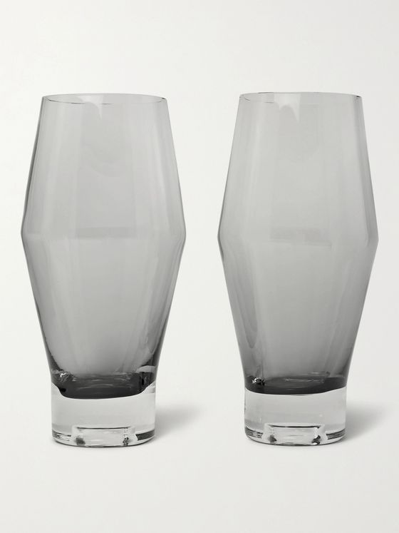 TOM DIXON Tank Set of Two Dégradé Beer Glasses