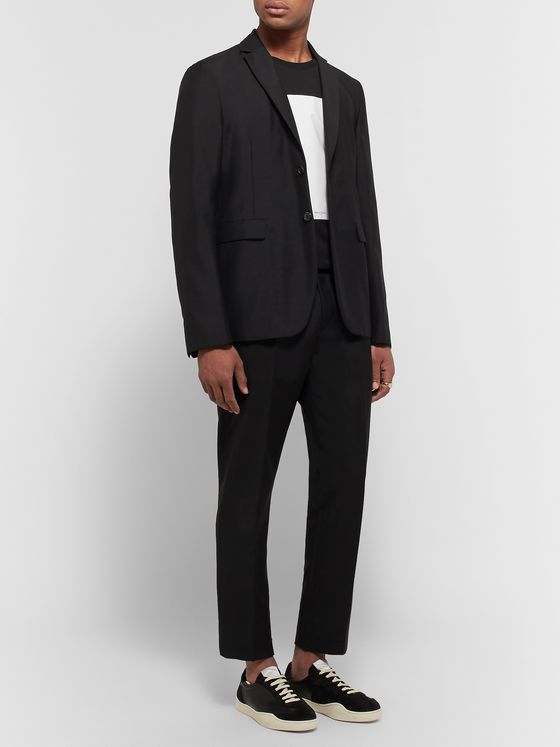 ACNE STUDIOS Unstructured Wool and Mohair-Blend Blazer