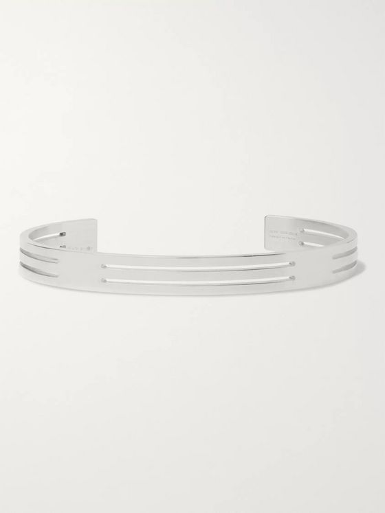 Le Gramme Le 19 Polished Sterling Silver Cuff