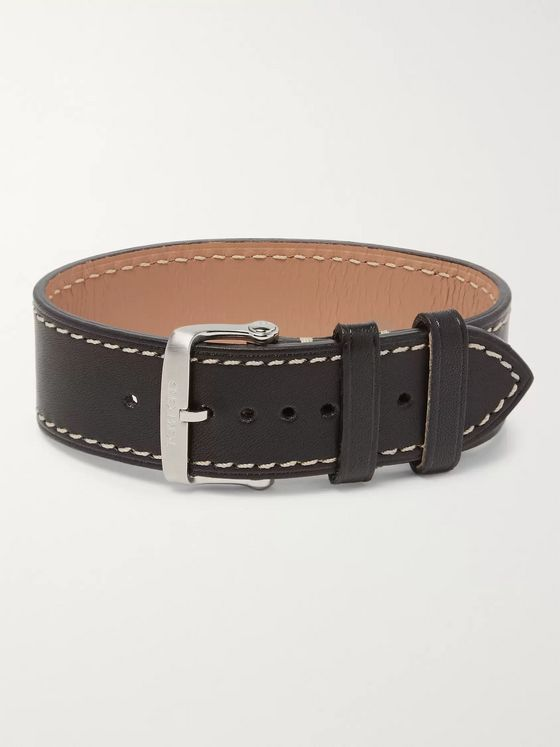 Tom Ford Timepieces Leather Watch Strap