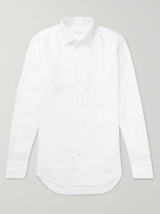 LORO PIANA Arizona Linen Shirt