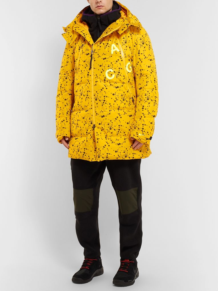 Nike ACG Oversized Quilted Printed Ripstop Hooded Down Parka