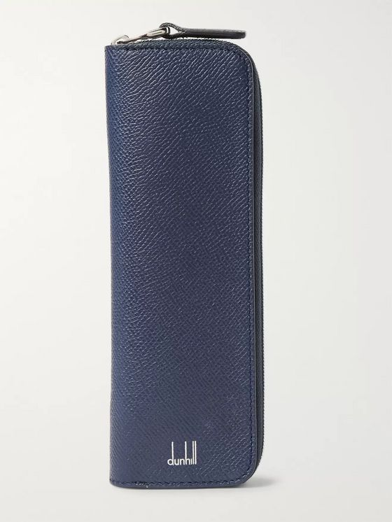 Dunhill Cadogan Full-Grain Leather Pencil Case
