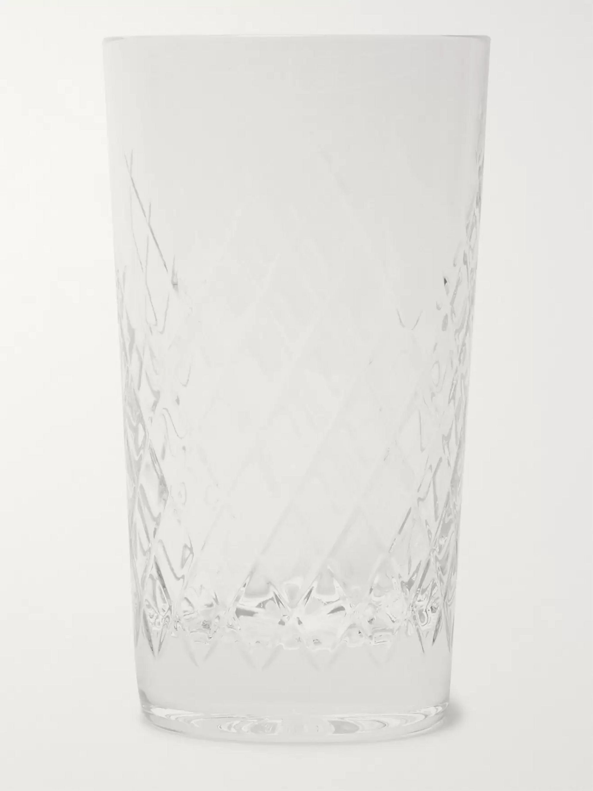 Soho Home Barwell Set of Six Cut Crystal Highball Glasses