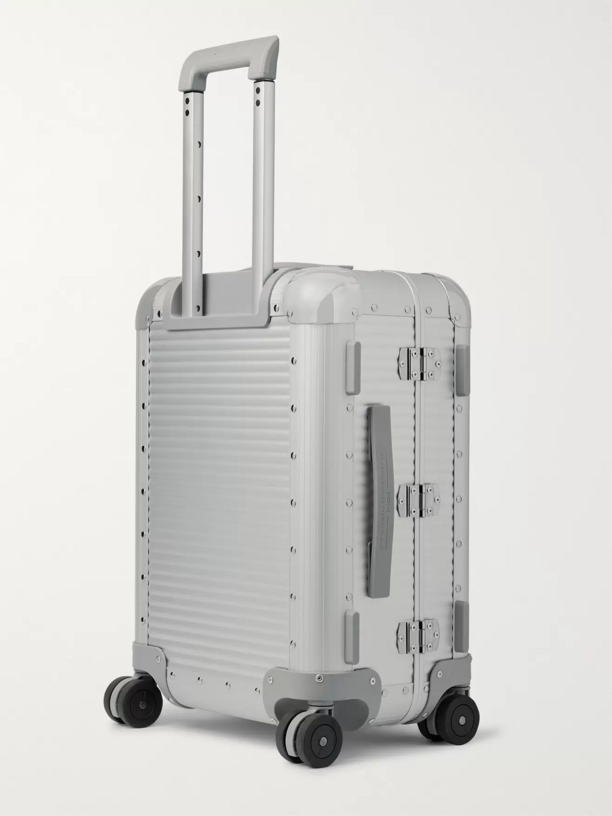 Fabbrica Pelletterie Milano Bank S Spinner 53cm Aluminium Carry-On Suitcase