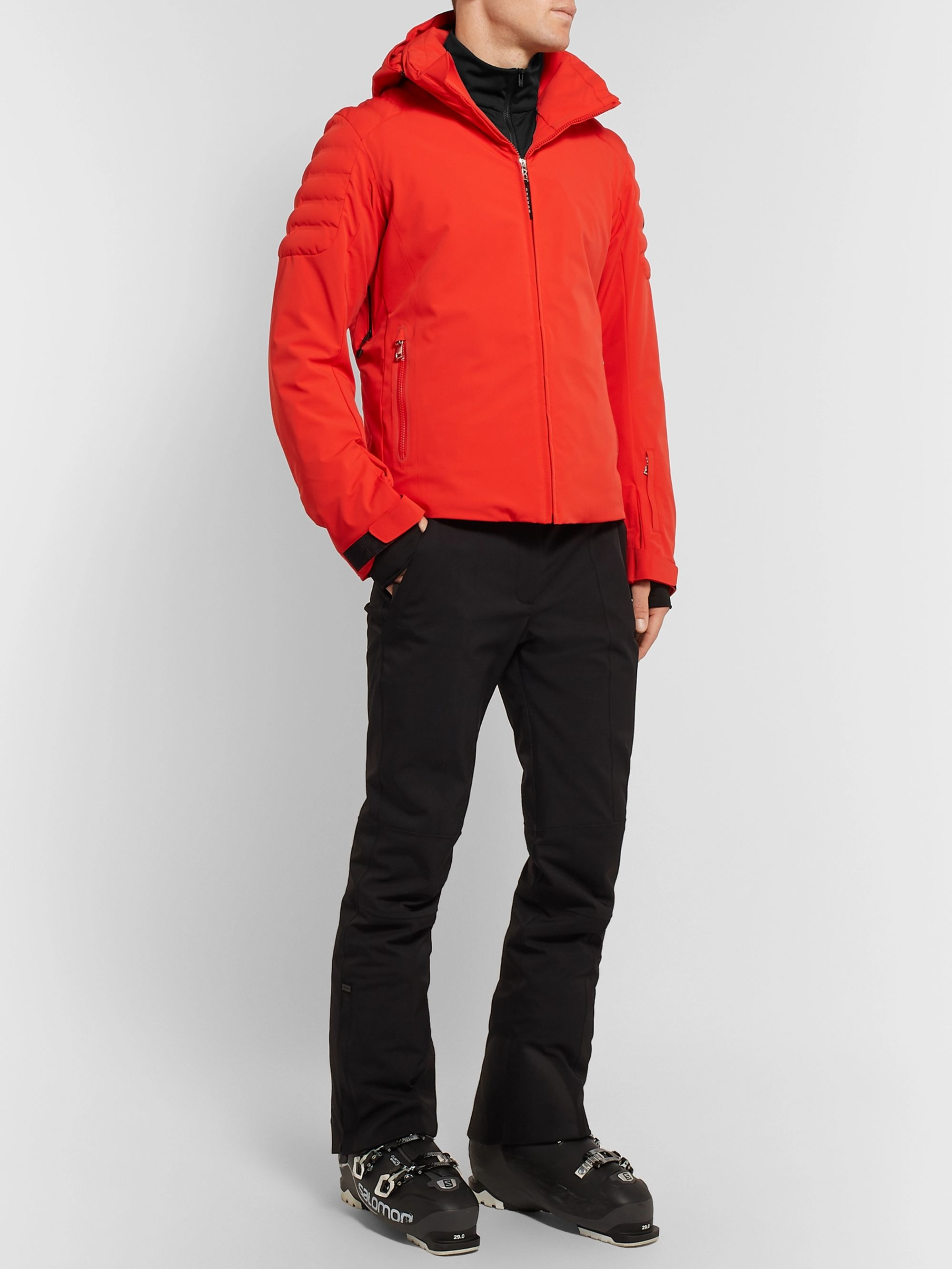 Fusalp Mario Fleece-Back Stretch-Jersey Half-Zip Ski Mid-Layer