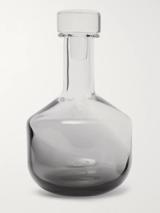 Tom Dixon Tank Dégradé Glass Whisky Decanter