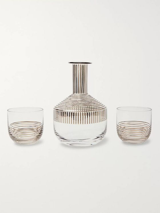 Tom Dixon Tank Striped Whisky Set