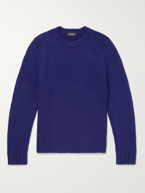 Berluti Ribbed Cashmere Sweater