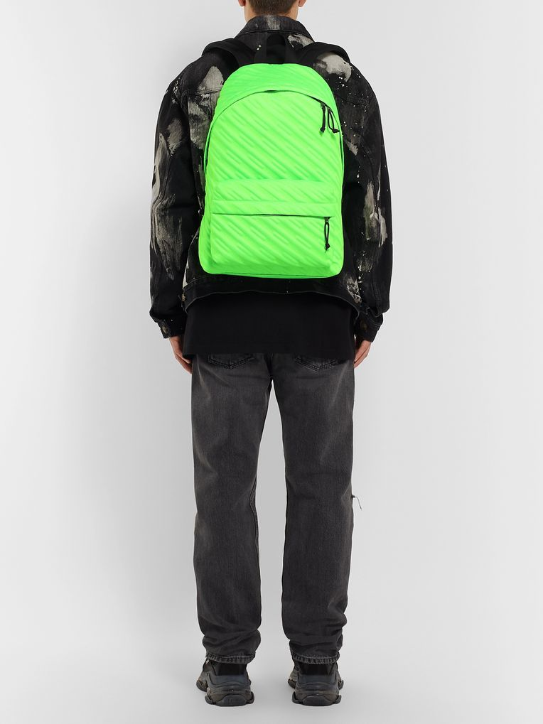 Balenciaga Explorer Quilted Canvas Backpack
