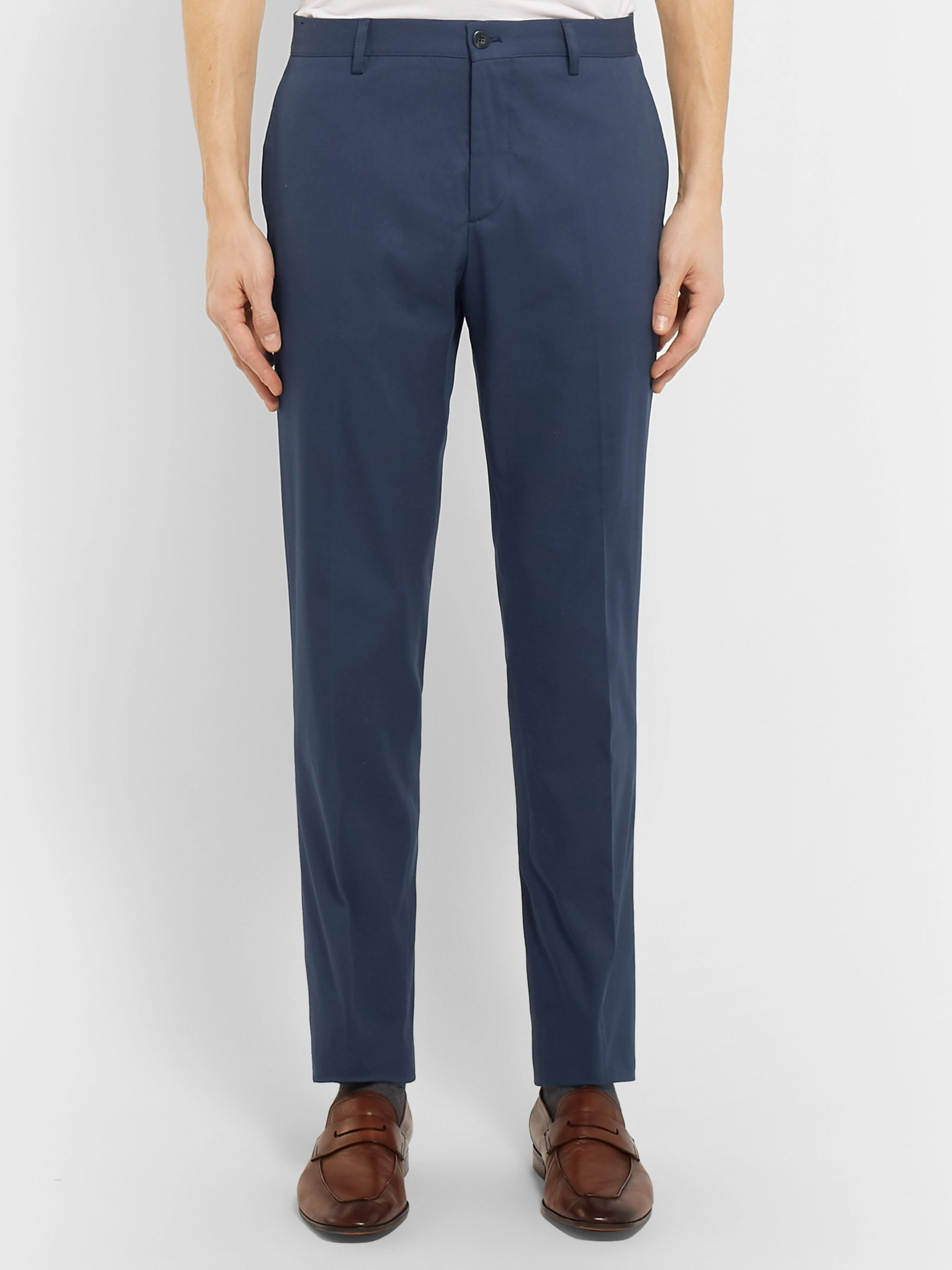 Etro Stretch-Cotton Twill Chinos