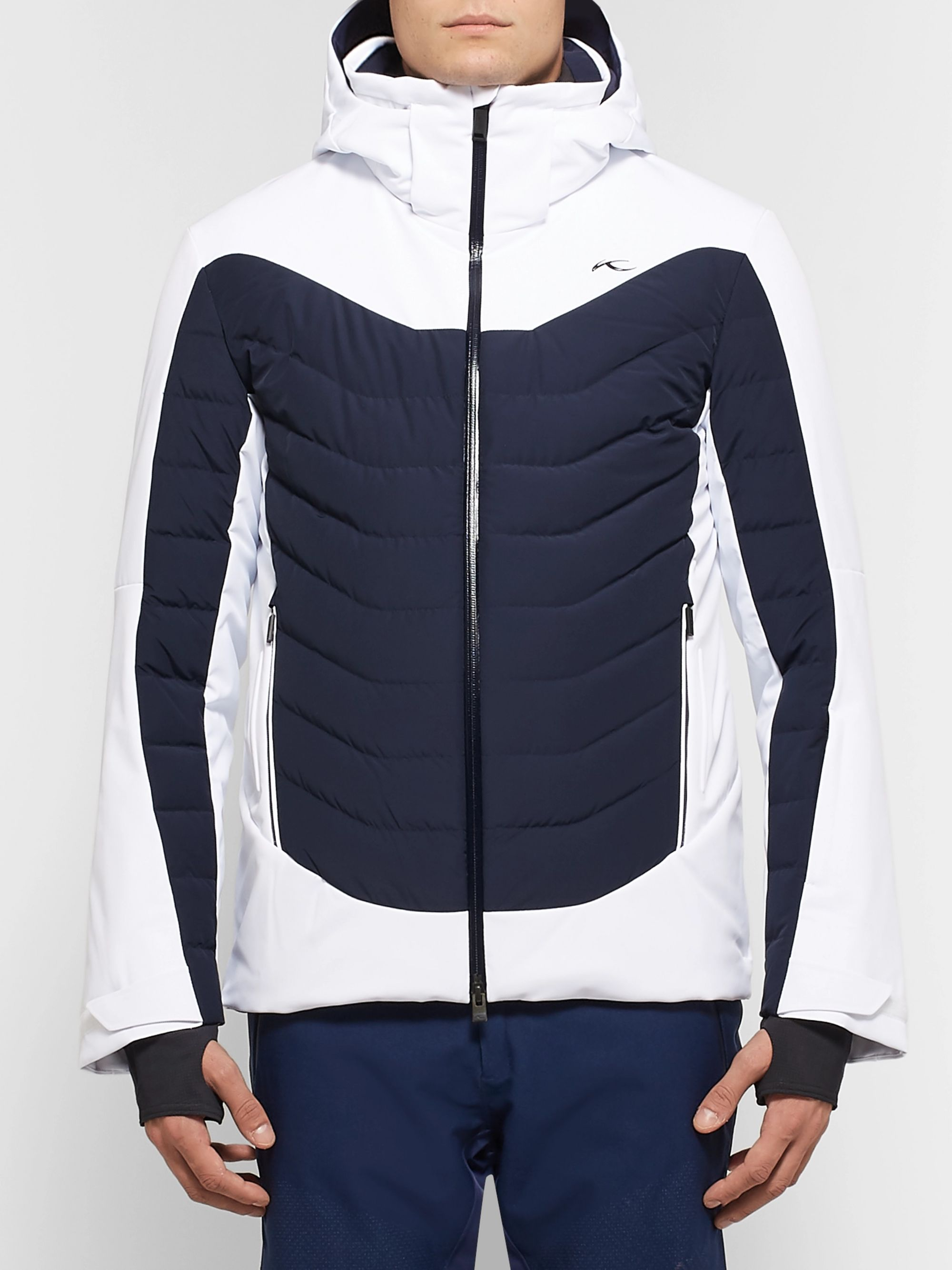 Kjus Sight Line Quilted Down Ski Jacket