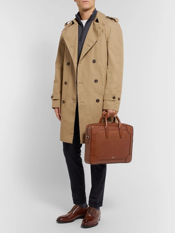 Mulberry Belgrave Full-Grain Leather Briefcase