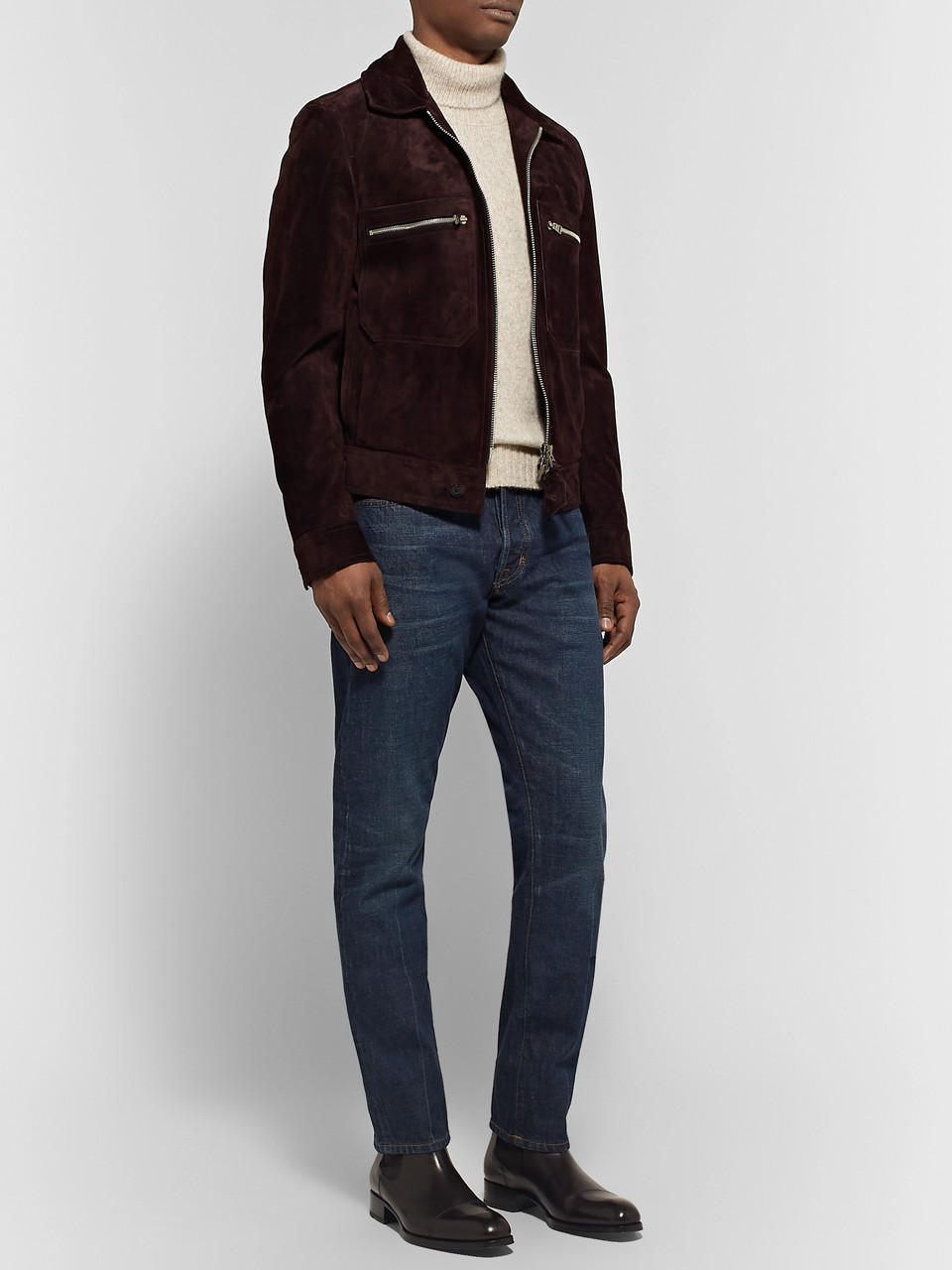 TOM FORD Slim-Fit Selvedge Denim Jeans