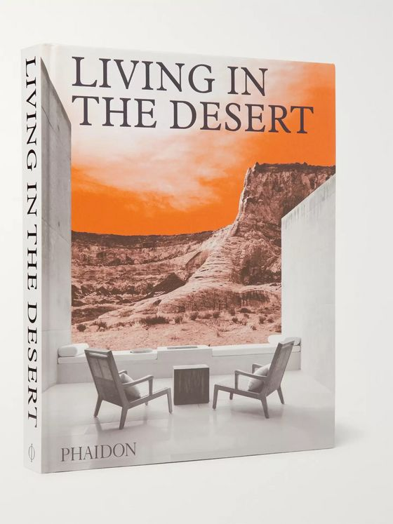 Phaidon Living In The Desert Hardcover Book