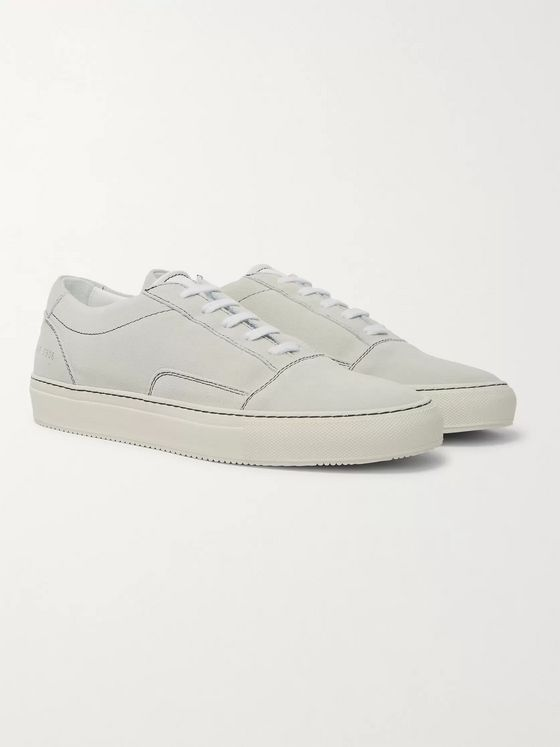 Common Projects Cap-Toe Suede Sneakers