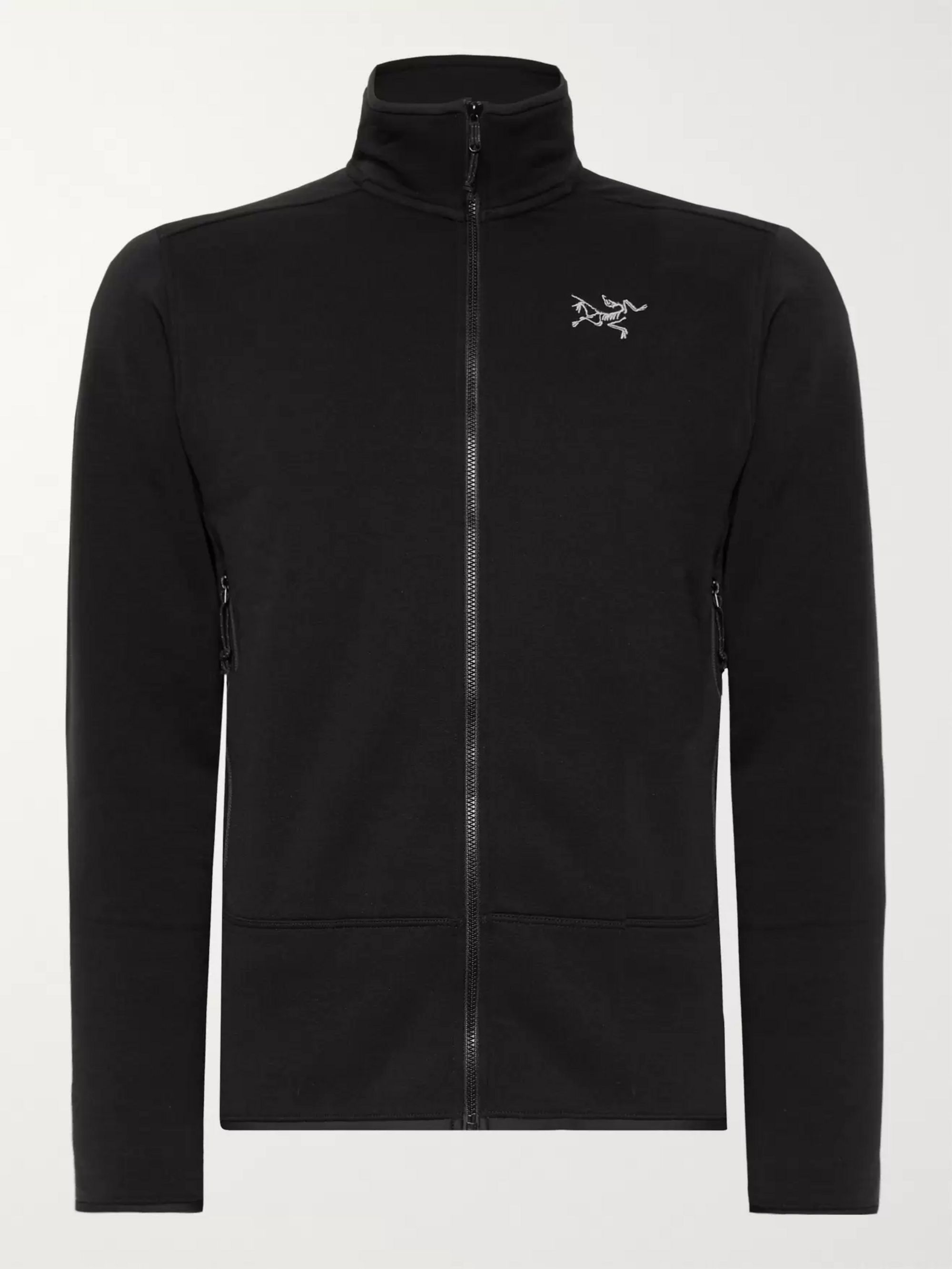 Arc'teryx Kyanite Slim-Fit Polartec Jersey Zip-Up Base Layer