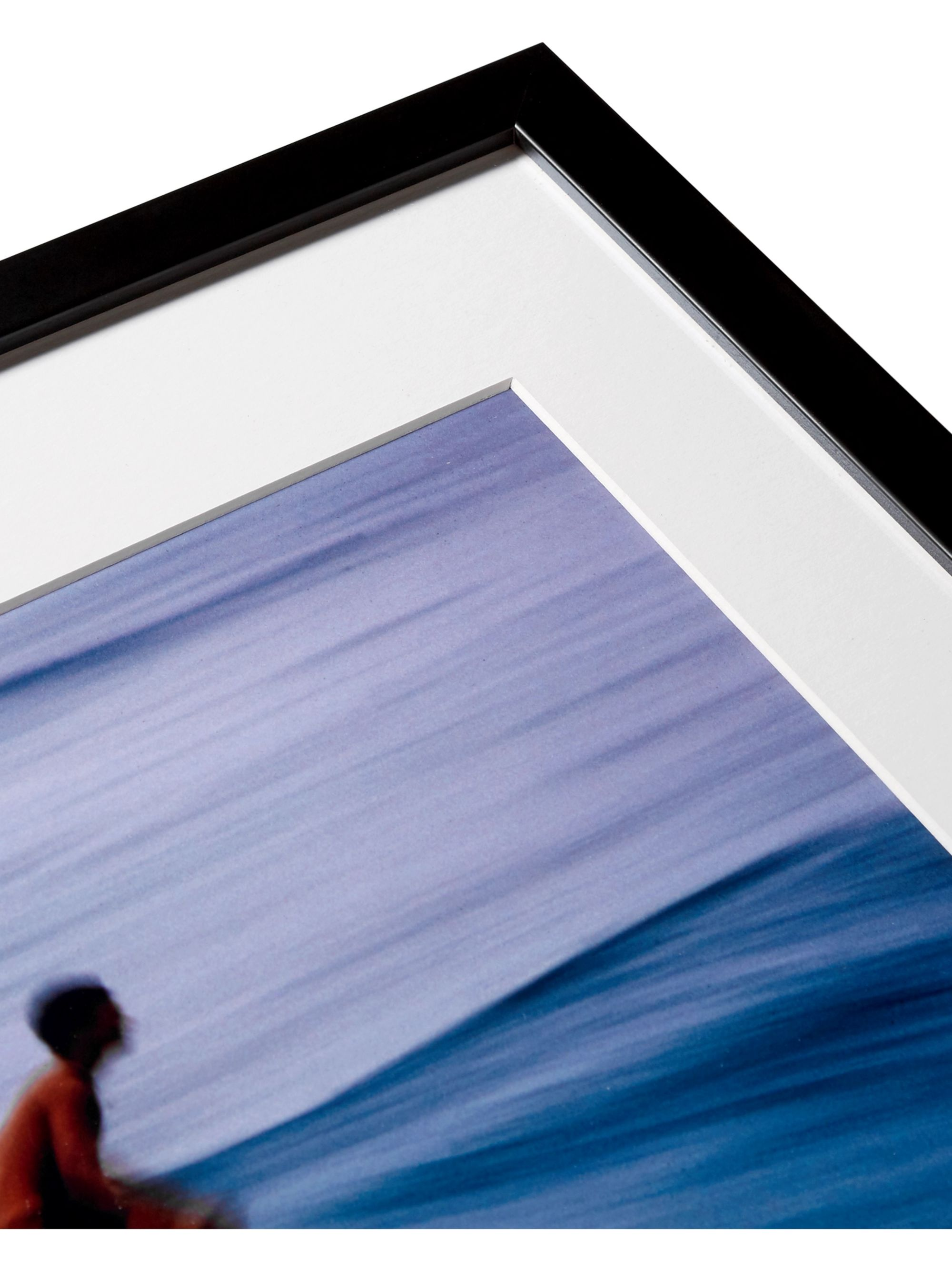 "Sonic Editions Framed 1990 Surfer in Pipeline Print, 16"" x 20"""
