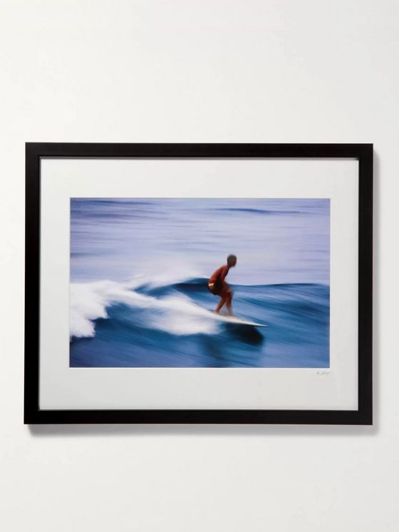"Sonic Editions Framed Surfer in Honolulu Print, 16"" x 20"""