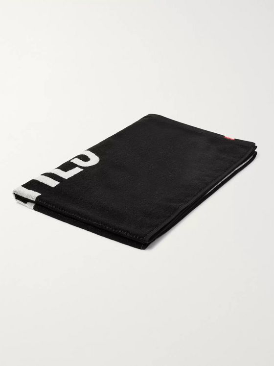 Wacko Maria Logo-Print Cotton-Terry Towel