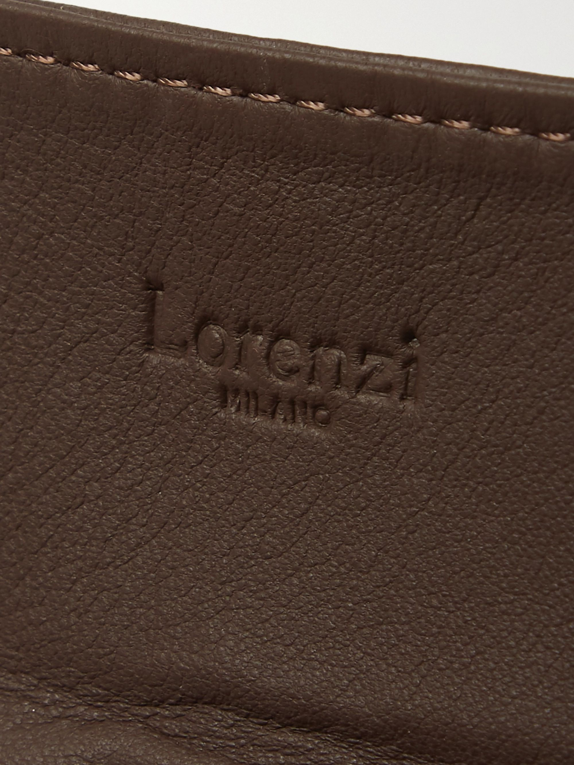 Lorenzi Milano Leather Watch Roll