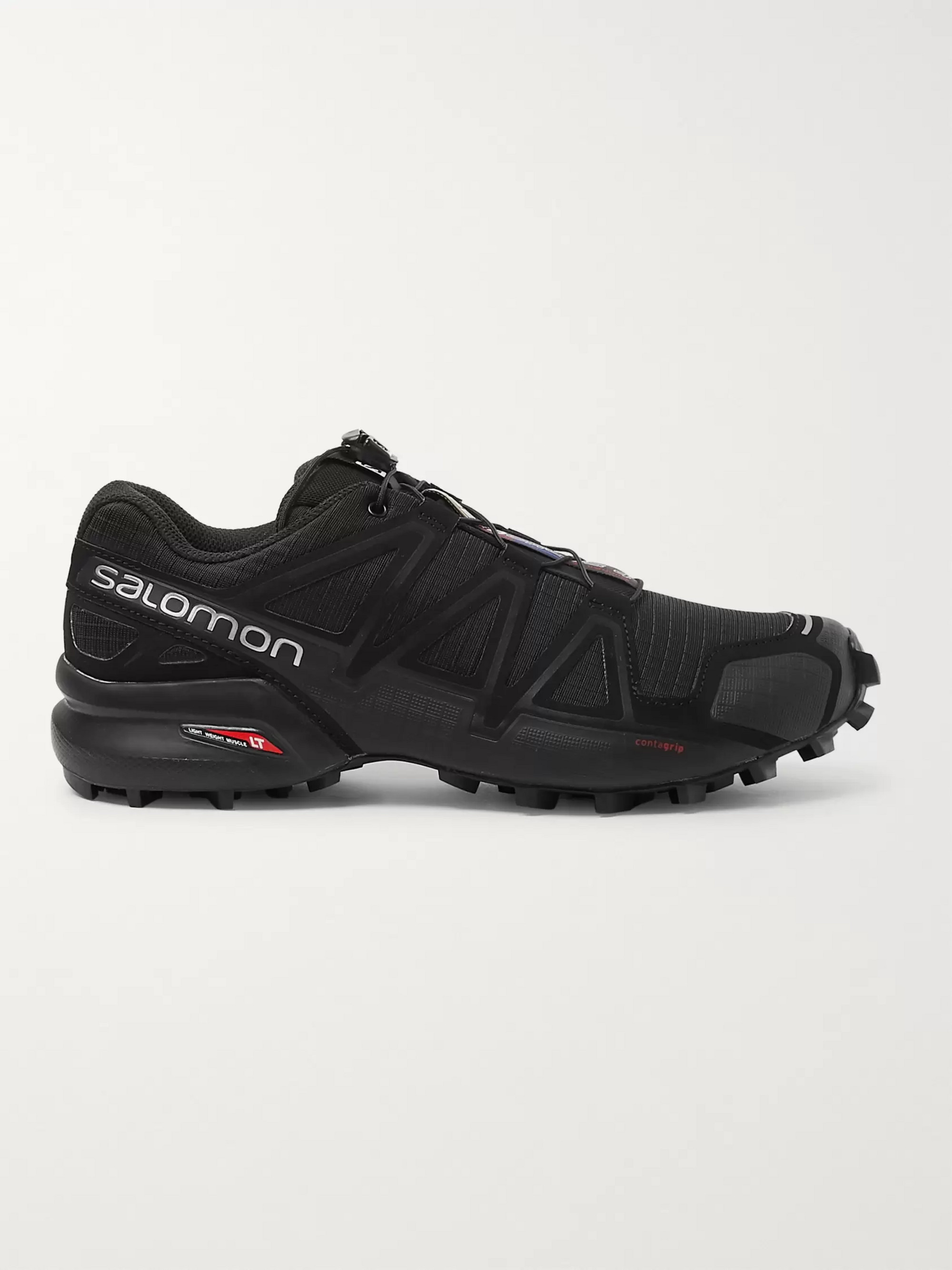 Salomon Speedcross 4 Ripstop and Rubber Trail Running Sneakers