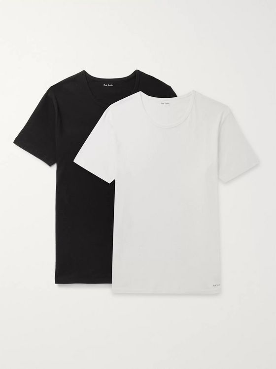 Paul Smith Two-Pack Slim-Fit Cotton-Jersey T-Shirts
