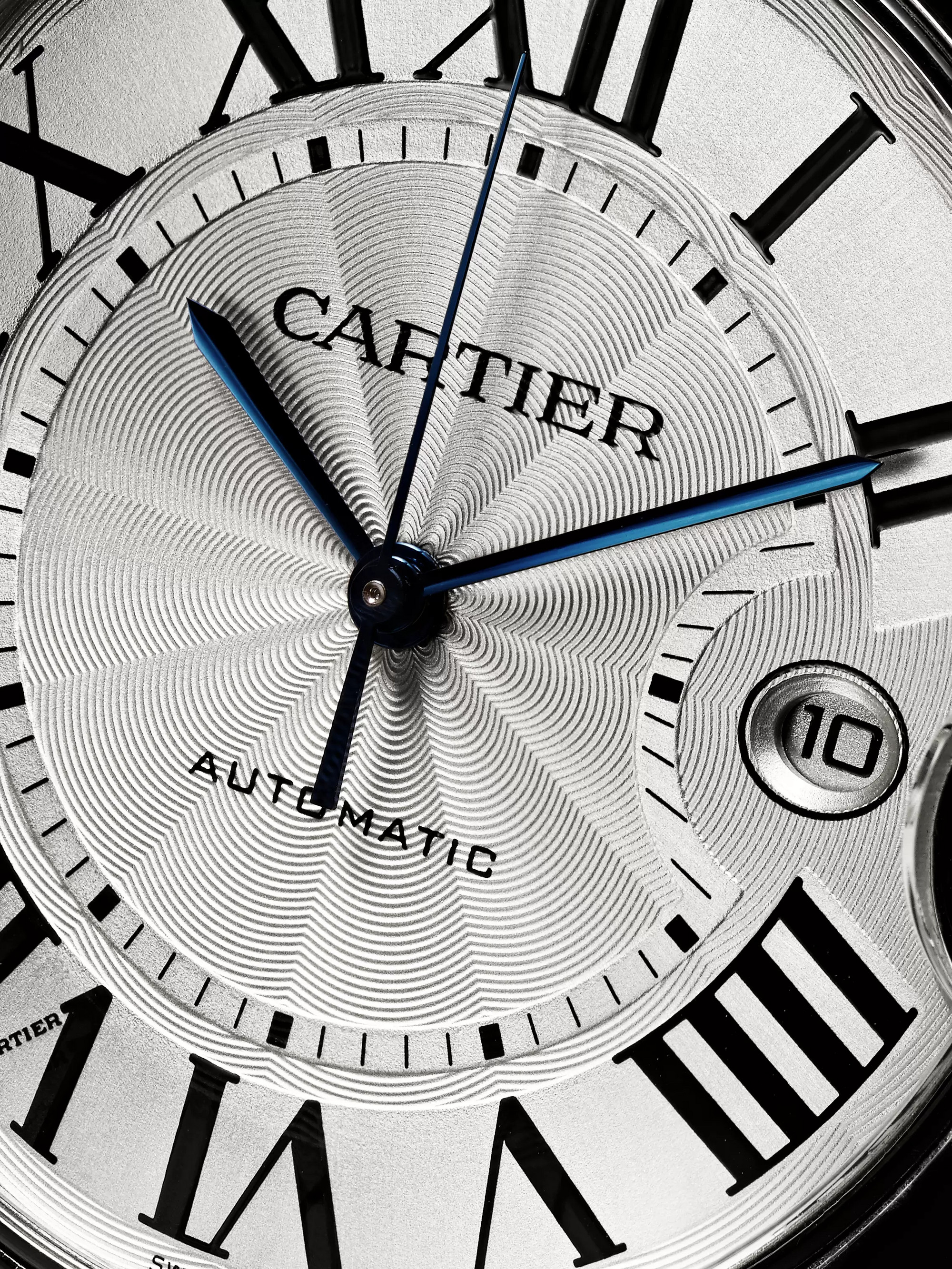 Cartier Ballon Bleu Automatic 42mm Steel Watch