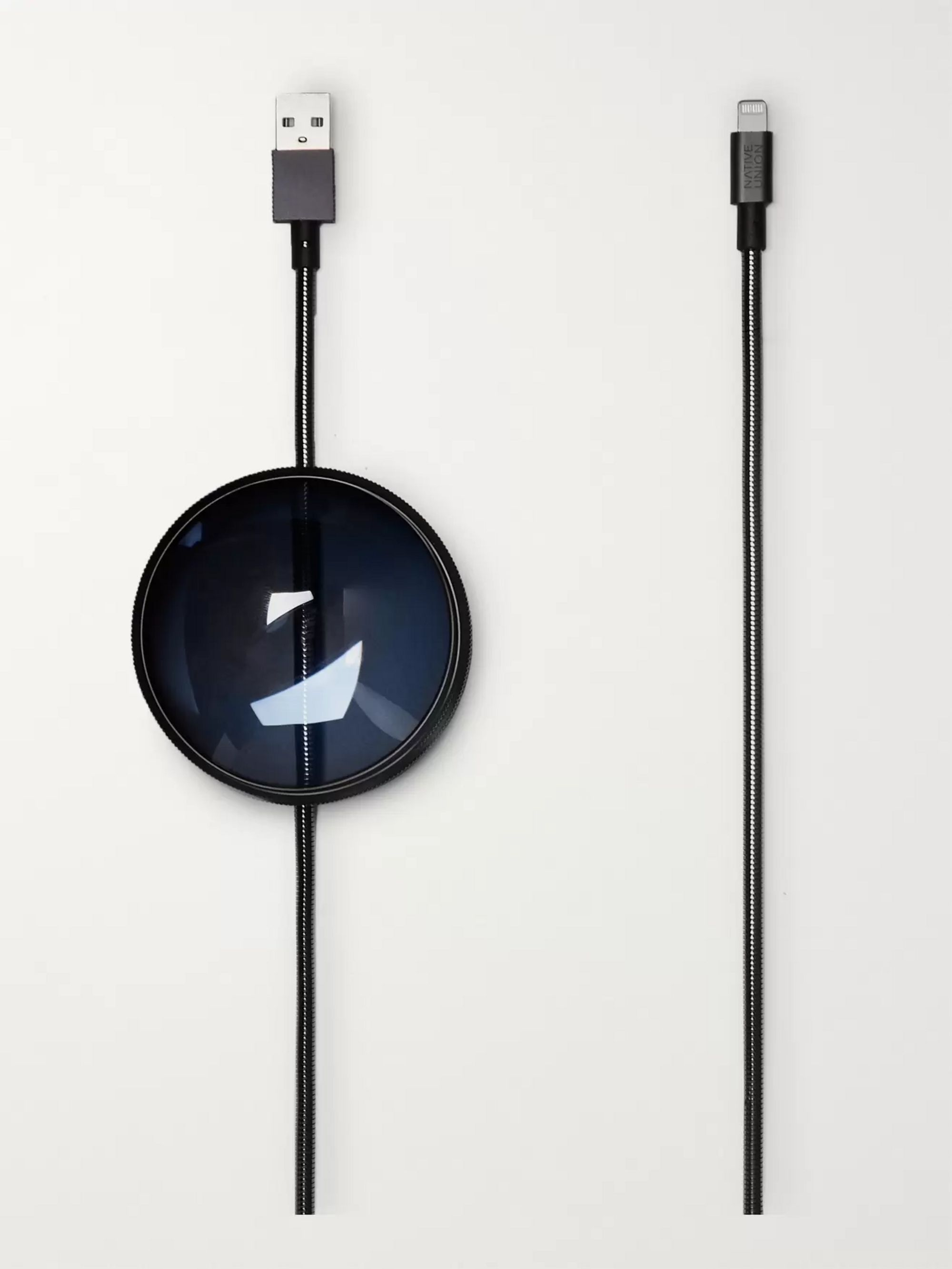 Native Union + Tom Dixon Dome Two-Piece Lightning Cable