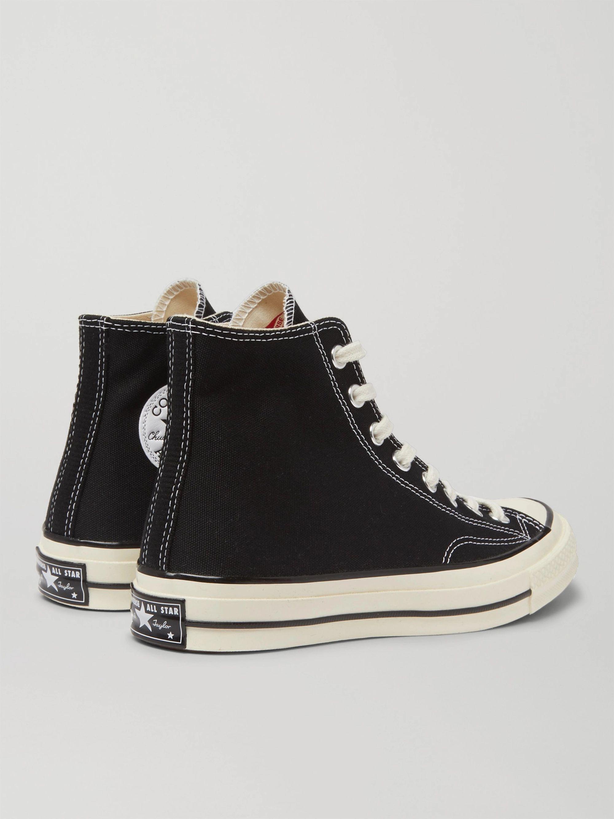 Black Chuck 70 Canvas High-top Sneakers   Converse