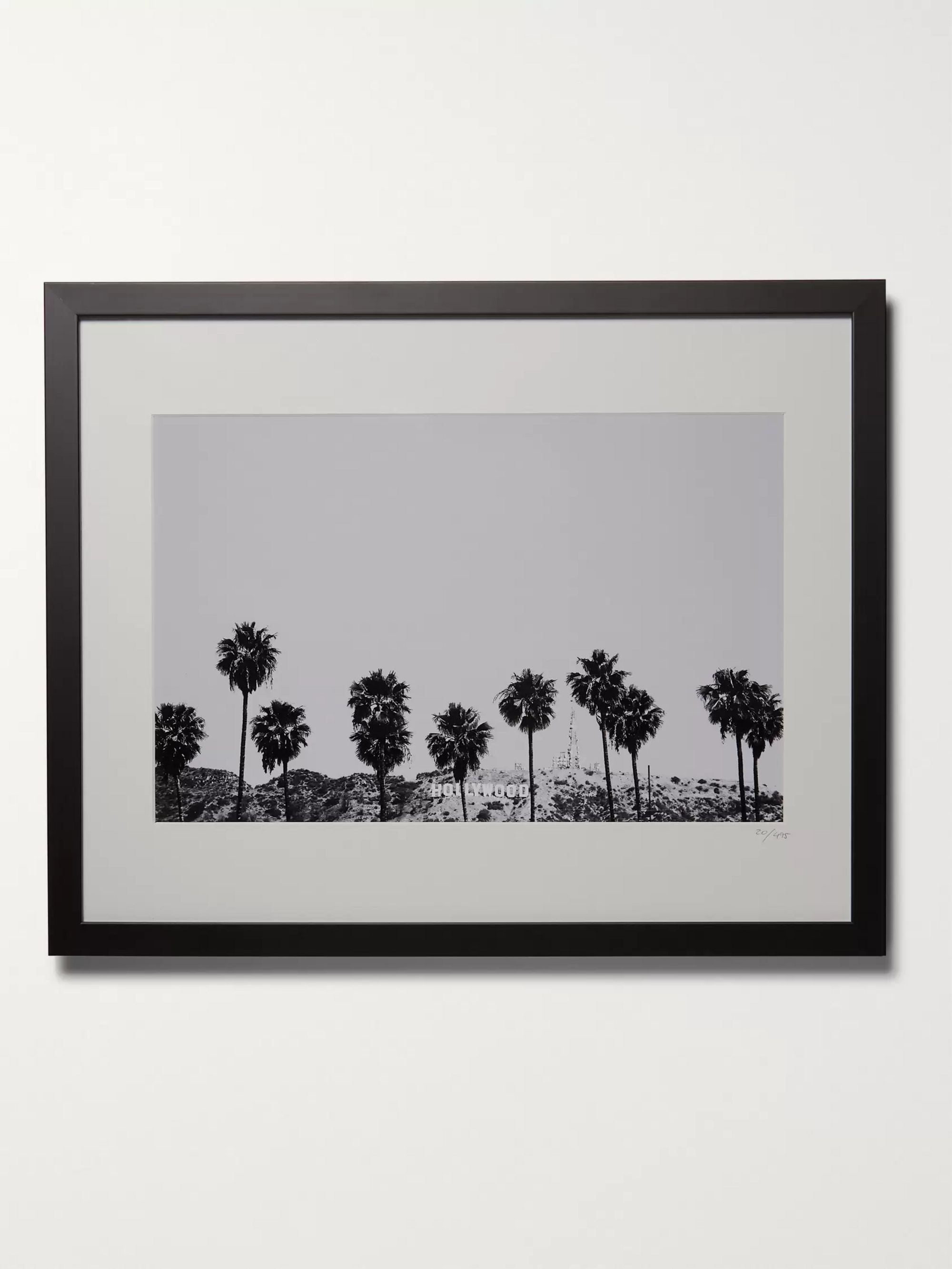 "Sonic Editions Framed 2015 Stephen Albanese Los Angeles Print, 16"" x 20"""