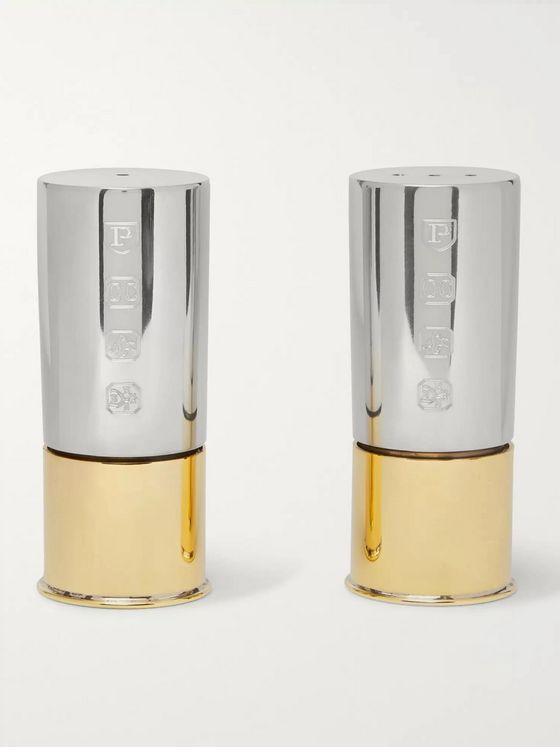 James Purdey & Sons Silver and Gold-Tone Cruet Set
