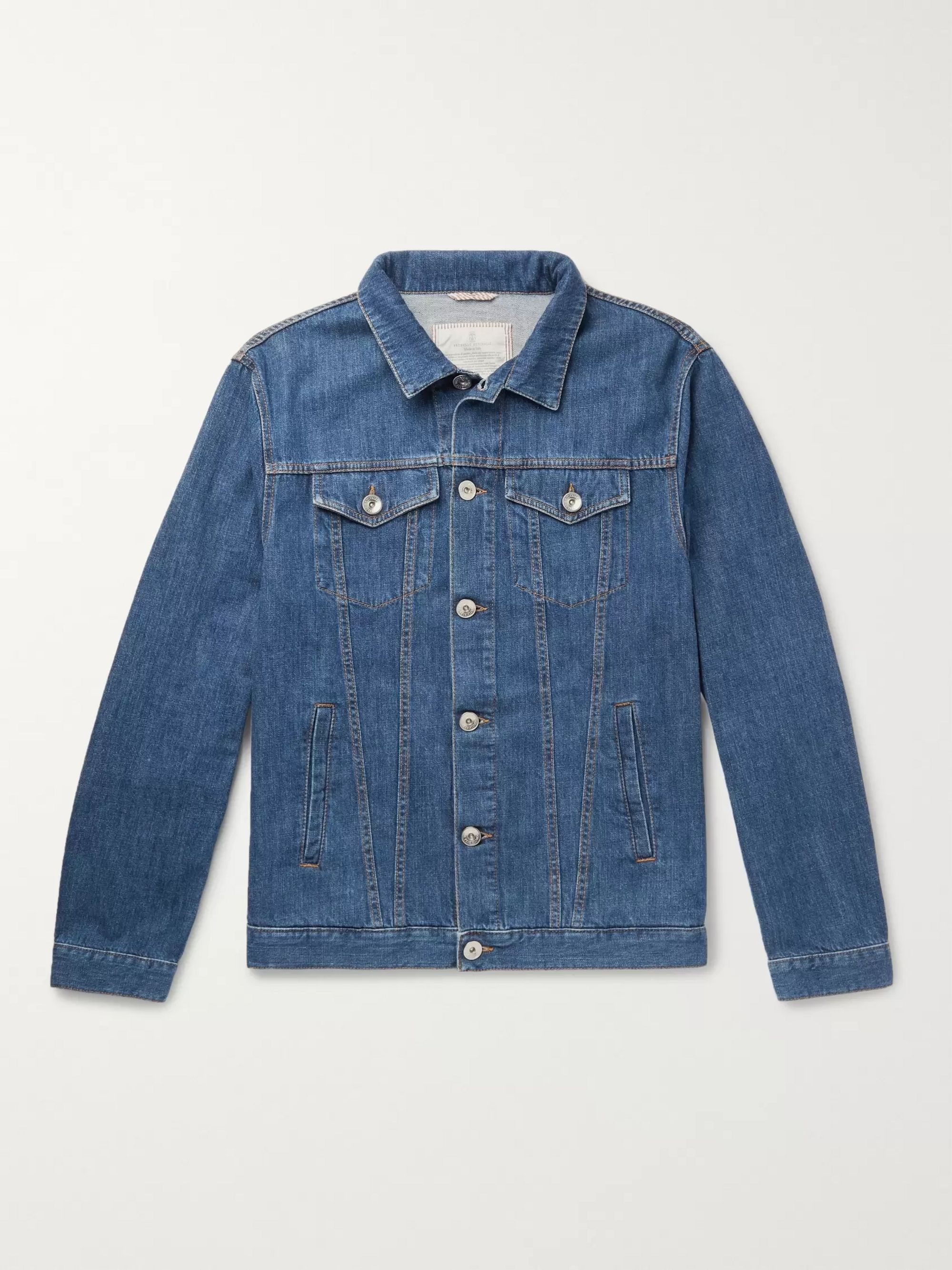 Brunello Cucinelli Stretch-Denim Jacket