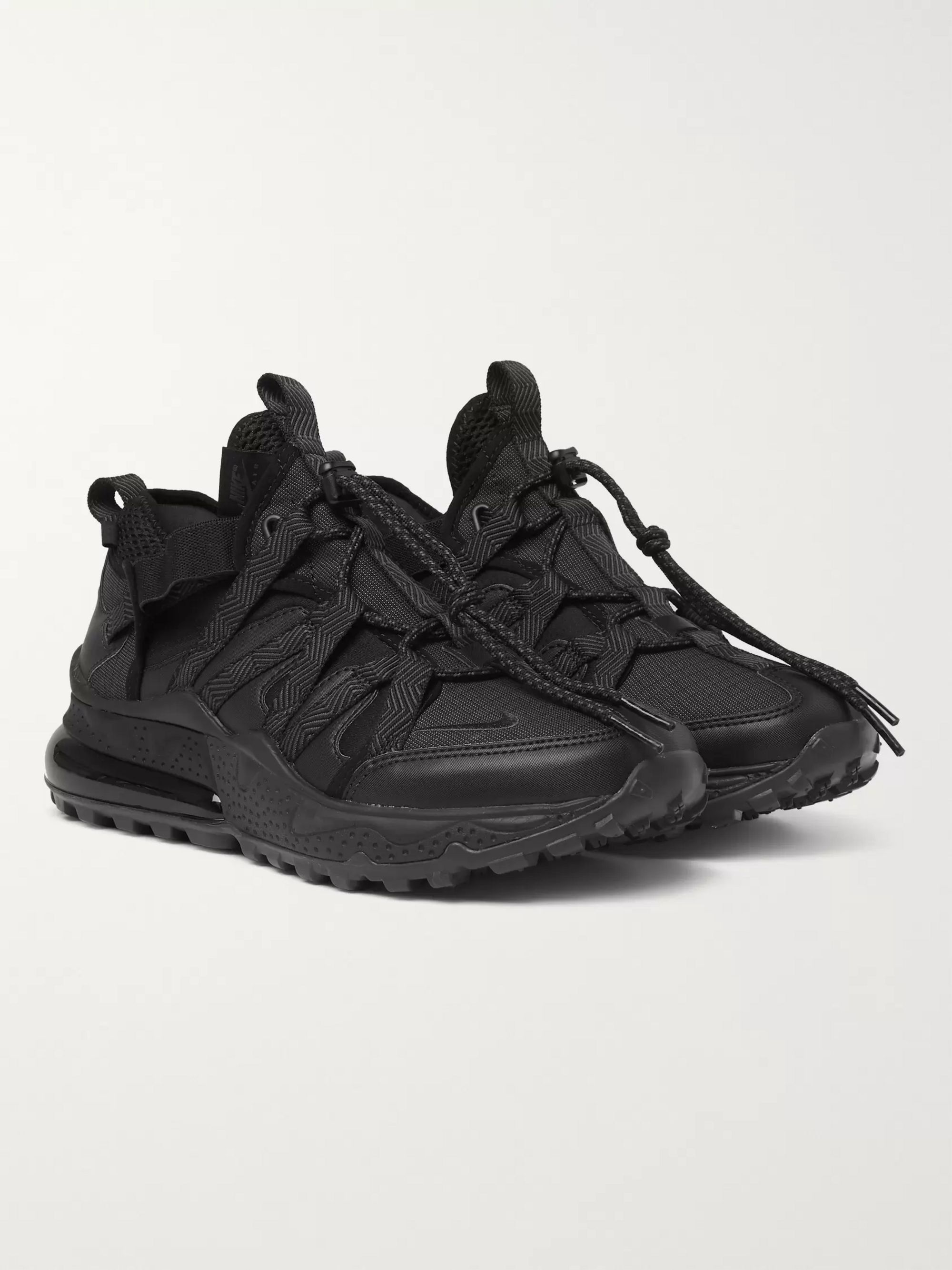 Air Max 270 Bowfin Ripstop, Mesh and Faux Leather Sneakers