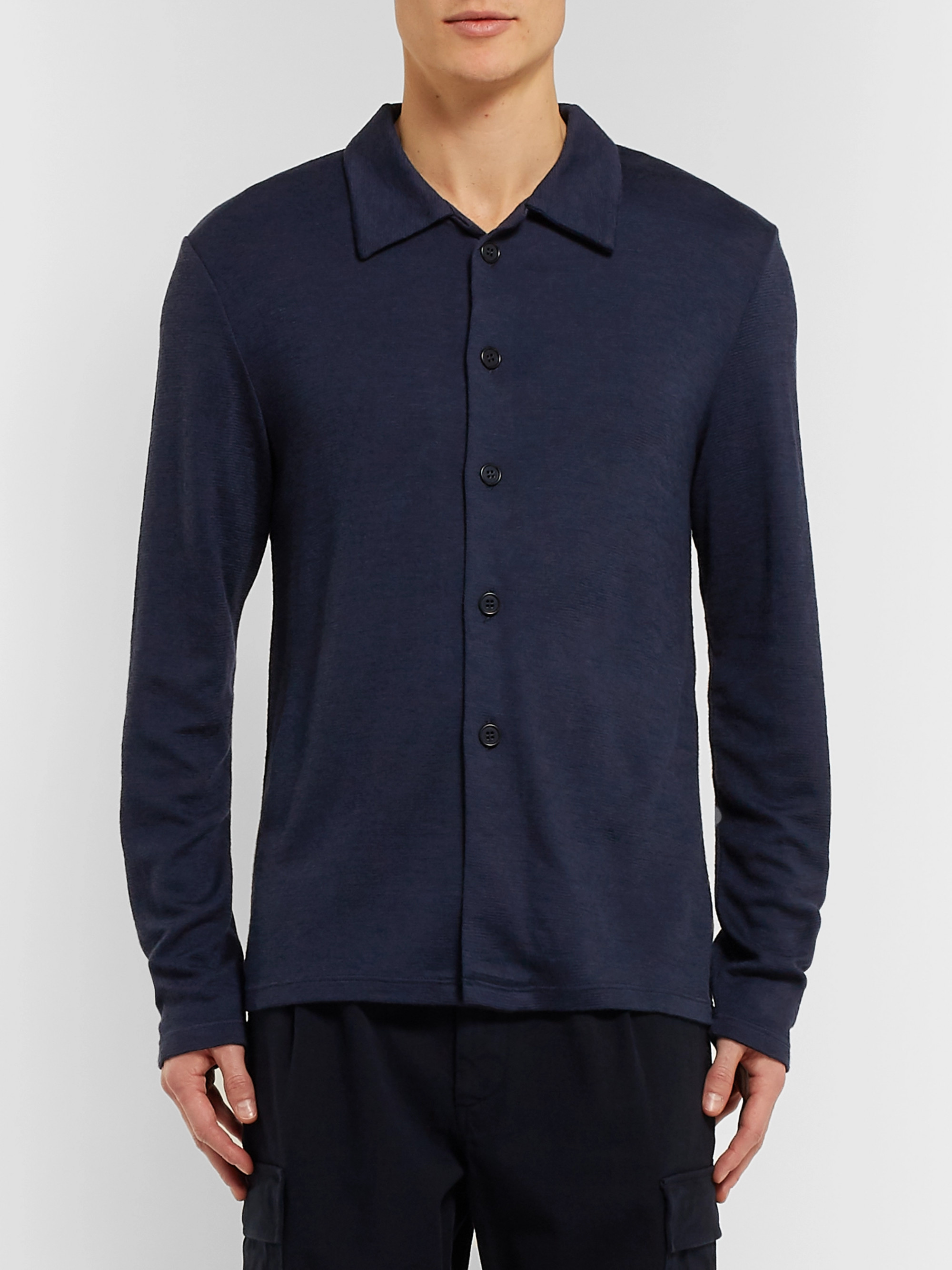 Barena Mesola Stretch-Knit Shirt