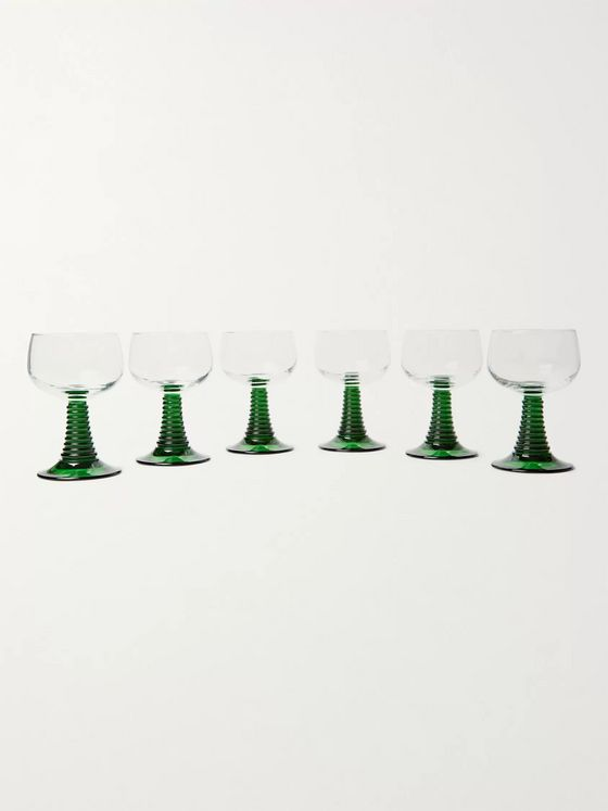 The Wolseley Collection Set of Six Roemer Glasses