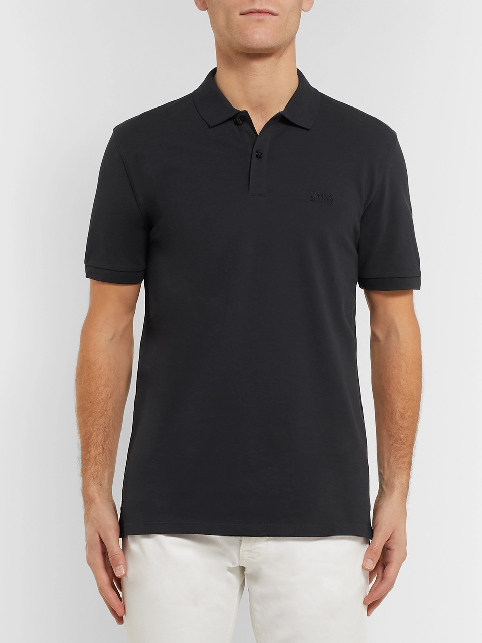Hugo Boss Pallas Cotton-Piqué Polo Shirt