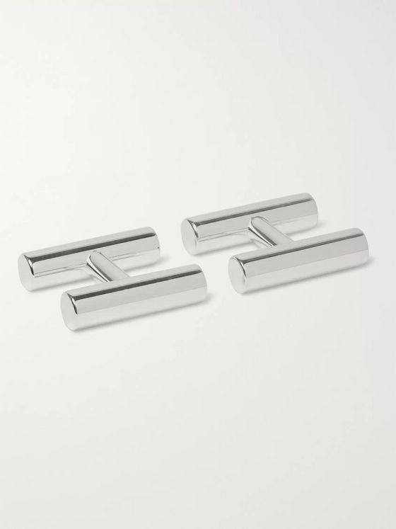 Alice Made This Kitson Silver-Plated Cufflinks